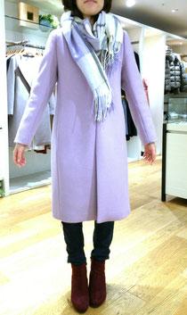 似合うコートとマフラーの合わせ方