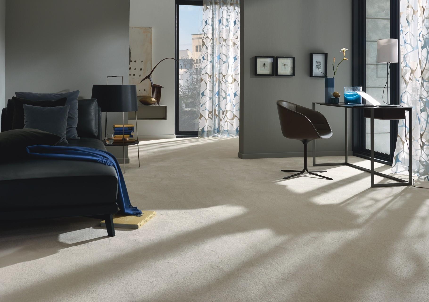 Teppichböden - Gardinen