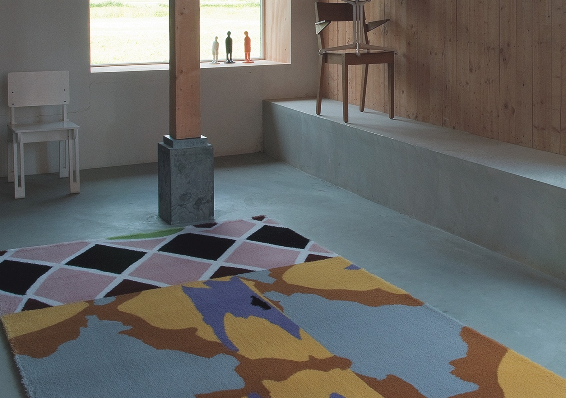 gemusterte Teppiche