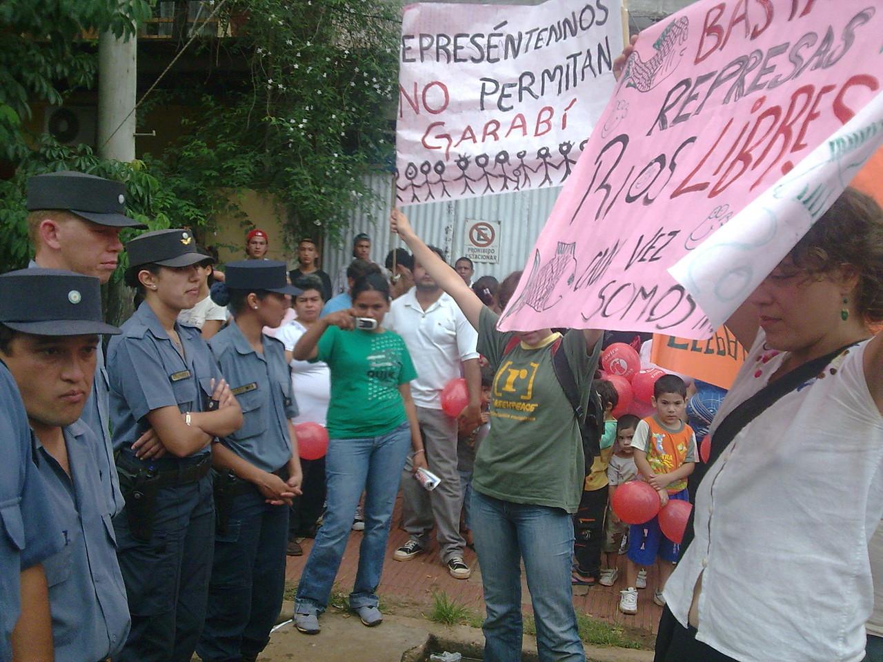 Asambleas y acciones ambientalistas