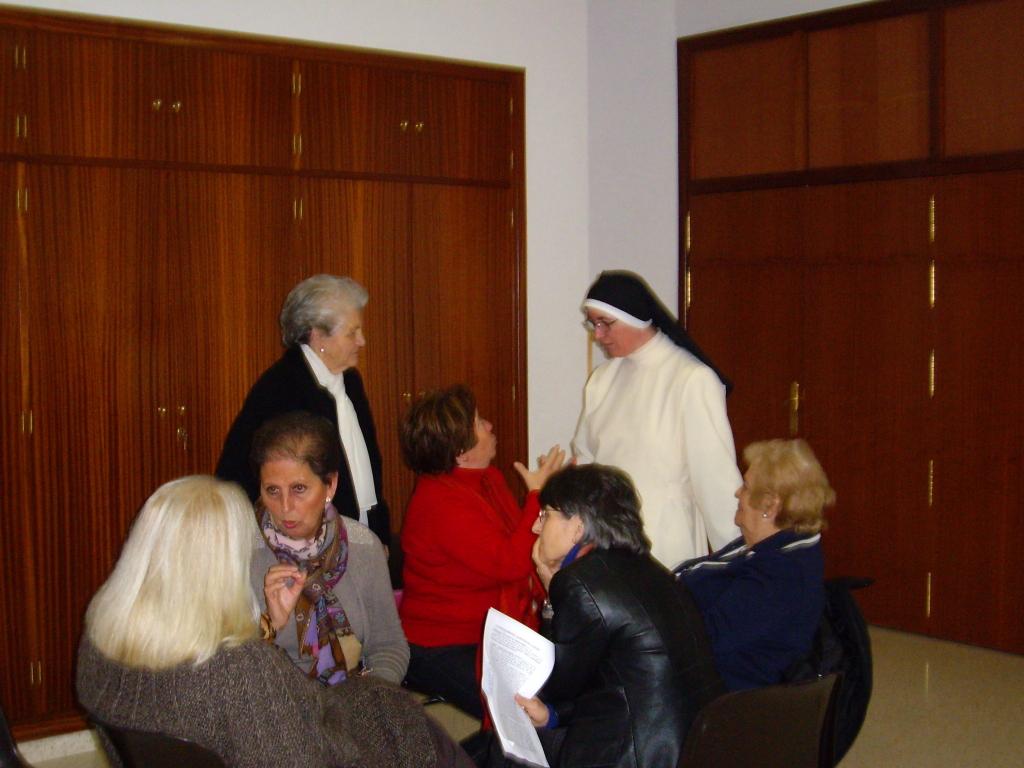 Sor Inmaculada OP, en el encuentro de mediodia