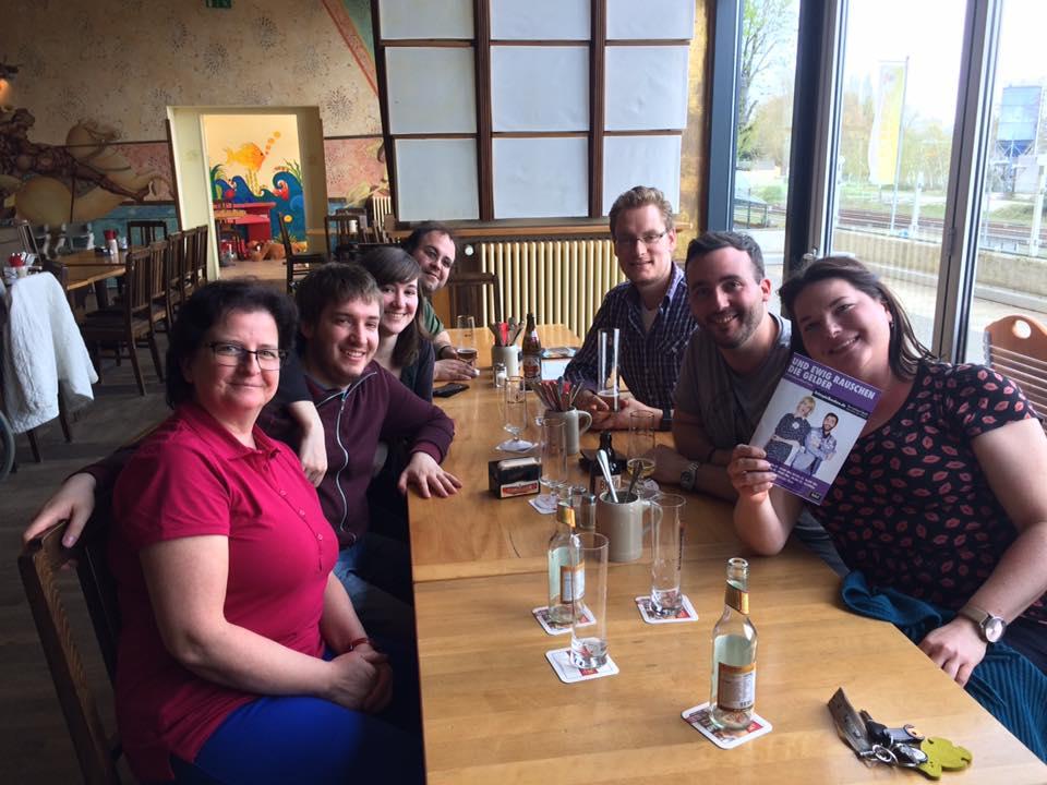 Vereinsessen in der Koblenzer Brauerei