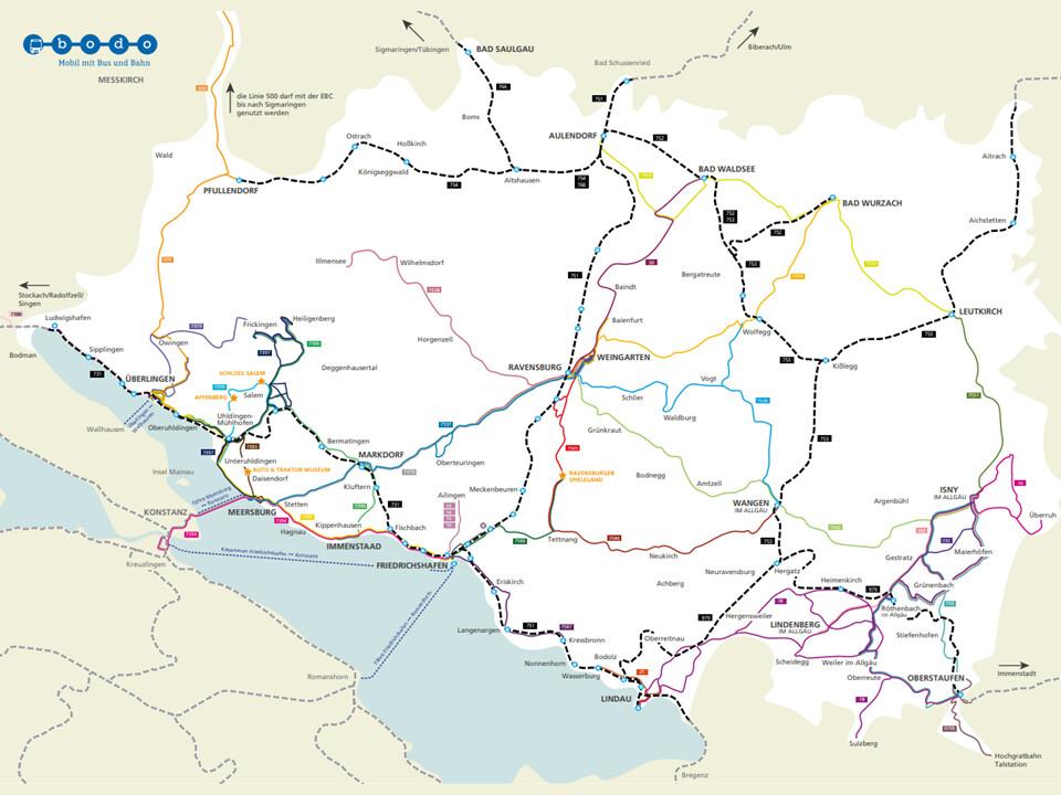 freie Fahrt mit der Echt Bodensee Card