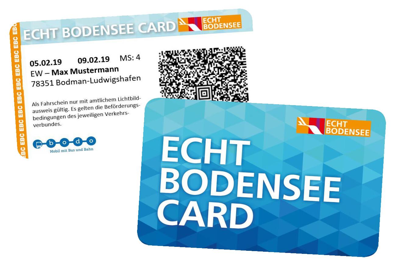 Echt Bodensee Card in der Kurtaxe enthalten