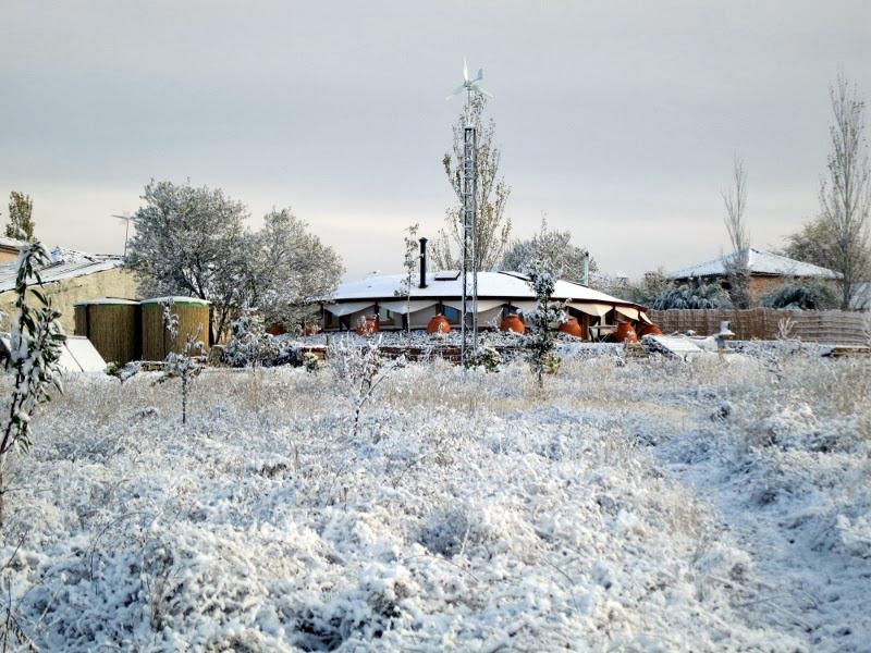 Casa Impluvium. Cubierta de Nieve. Vellosillo