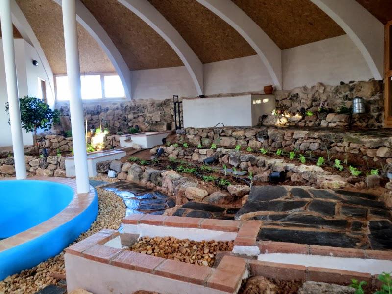 Casa Impluvium. Huerto-Jardín Interior. Vellosillo