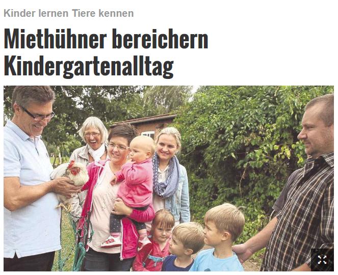Kreiszeitung Verden 28.08.2016
