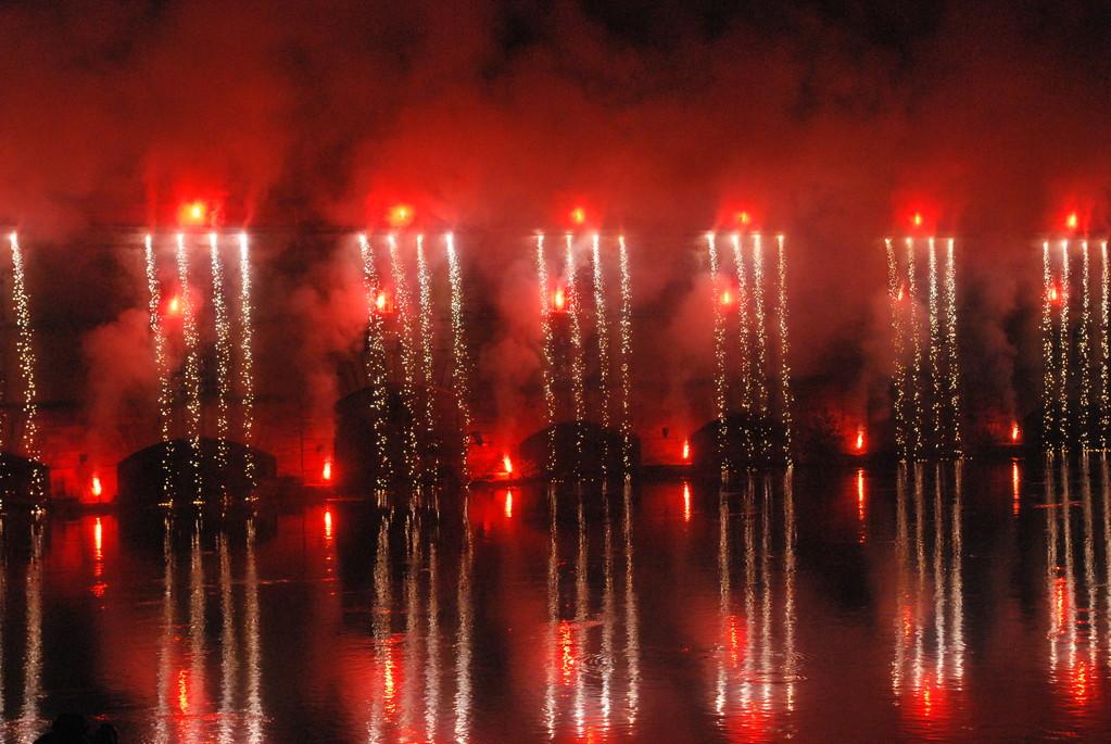 Les Ponts Couverts-Feu d'artifice 2008