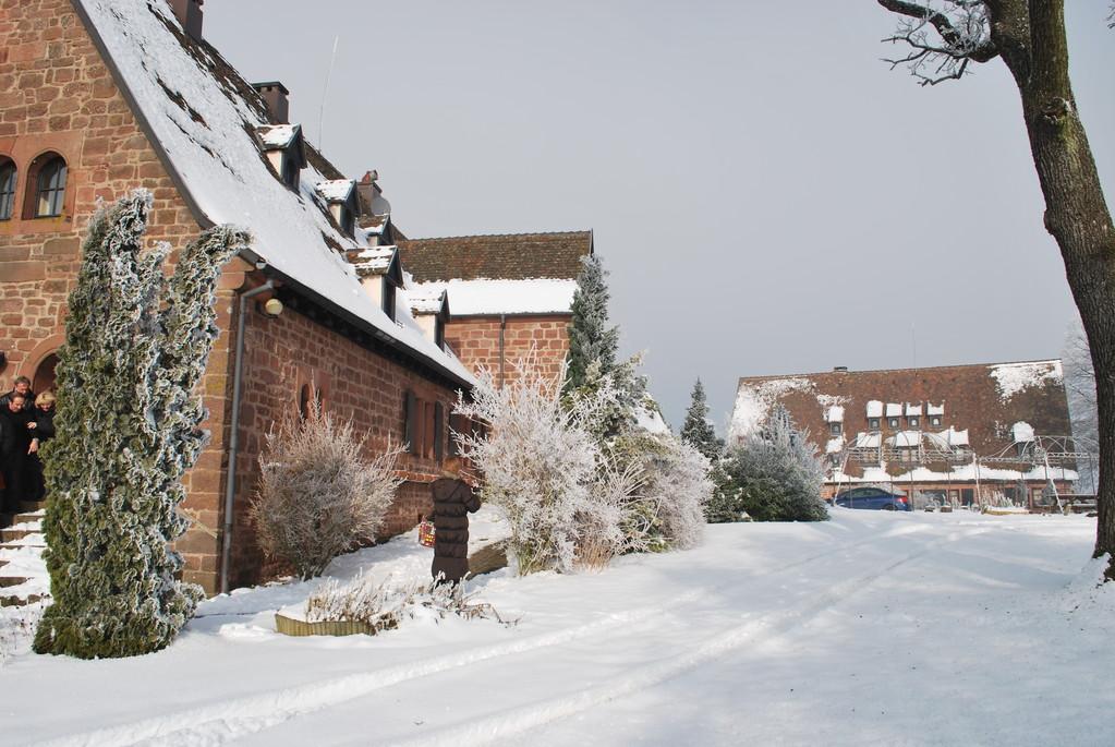 Soleil d'hiver au Château du Hunebourg