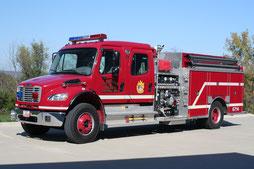 6710 - 2006 Freightliner Rescue Pumper
