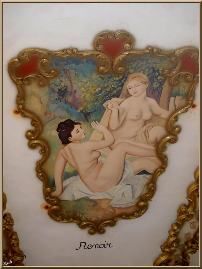 """Le Carrousel 1900 à la jetée d'Eyrac à Arcachon, """"Ville d'Eté, détail plafond intérieur"""