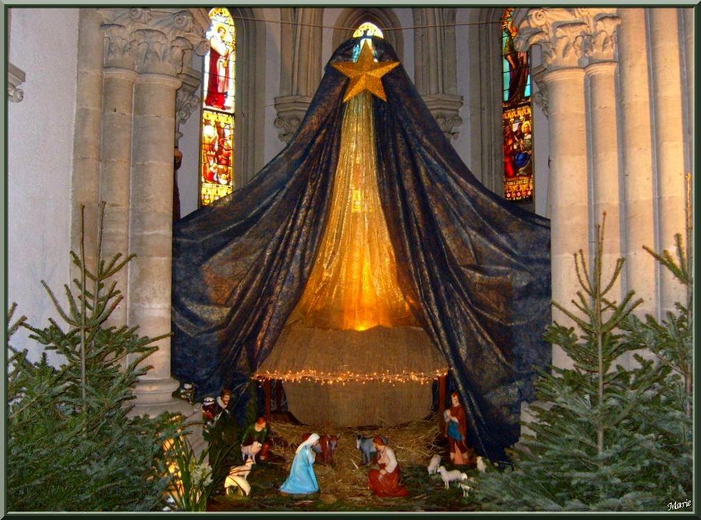 Crèche Noël 2009 à la Basilique Notre Dame d'Arcachon, Ville de Printemps