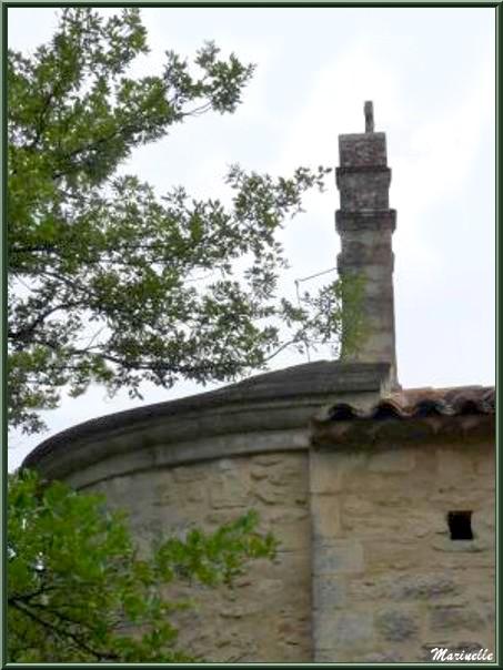 Abside primitive de la Chapelle Saint Véran à Goult, Lubéron - Vaucluse (84)