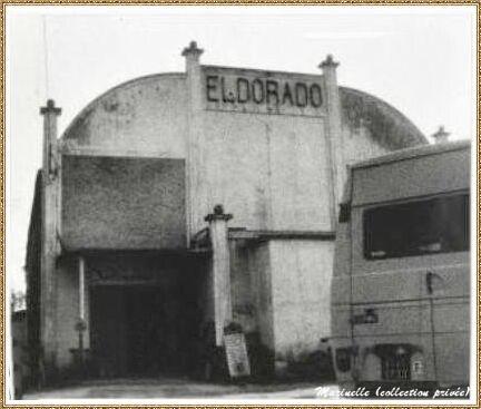 """Gujan-Mestras autrefois : """"Eldorado"""" devenu entrepôt antiquités, Bassin d'Arcachon (photo collection privée)"""
