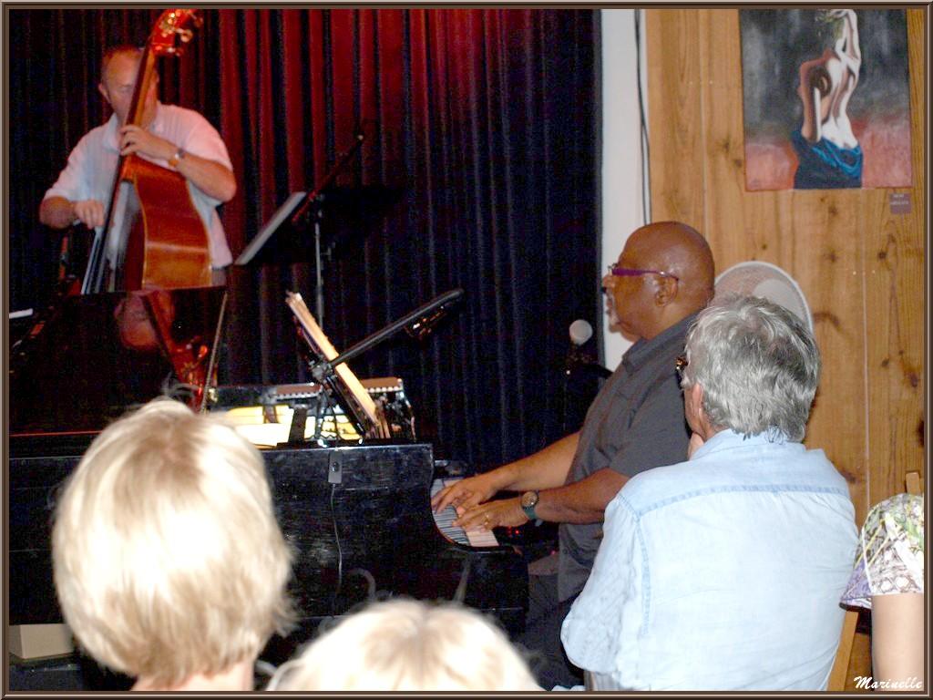 Joseph Ganter et Didier Vaudron, concert Caroline Grossot au Baryton à Lanton le 7 juin 2014