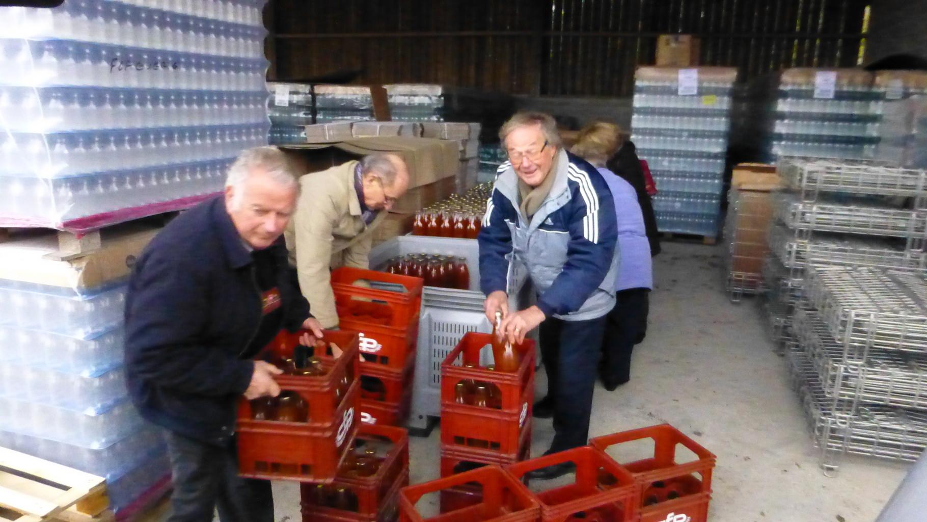 180 bouteilles à ramener sur Maltot !