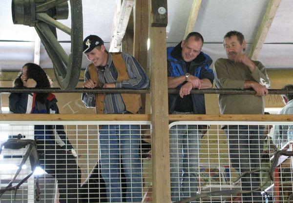 Die Zuschauer von oben ...