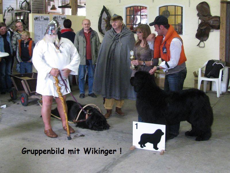 Gruppenbild mit Wikinger!