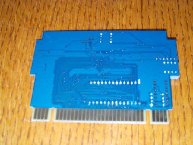 Campus Challenge 1992 PCB back