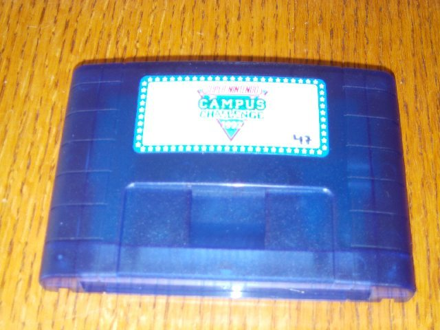 Campus Challenge 1992 Cartridge front Repro