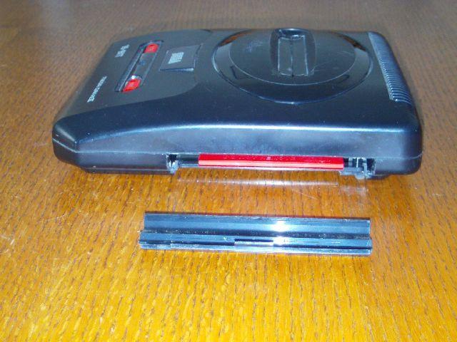 Erweiterung für Mega CD 2 mit Staubschutz