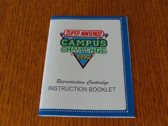Campus Challenge 1992 Booklet Repro