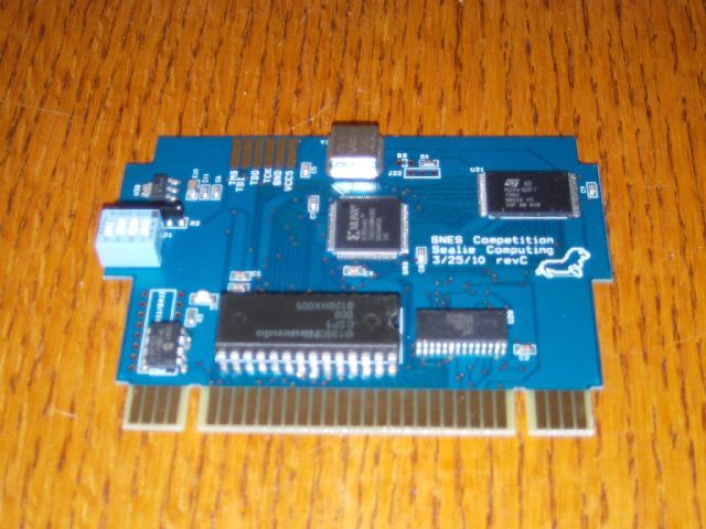 Campus Challenge 1992 PCB front