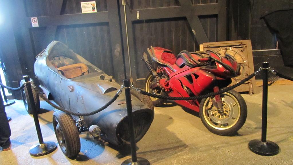 """funktionstüchtige Motorräder der """"Wilden Kerle"""""""