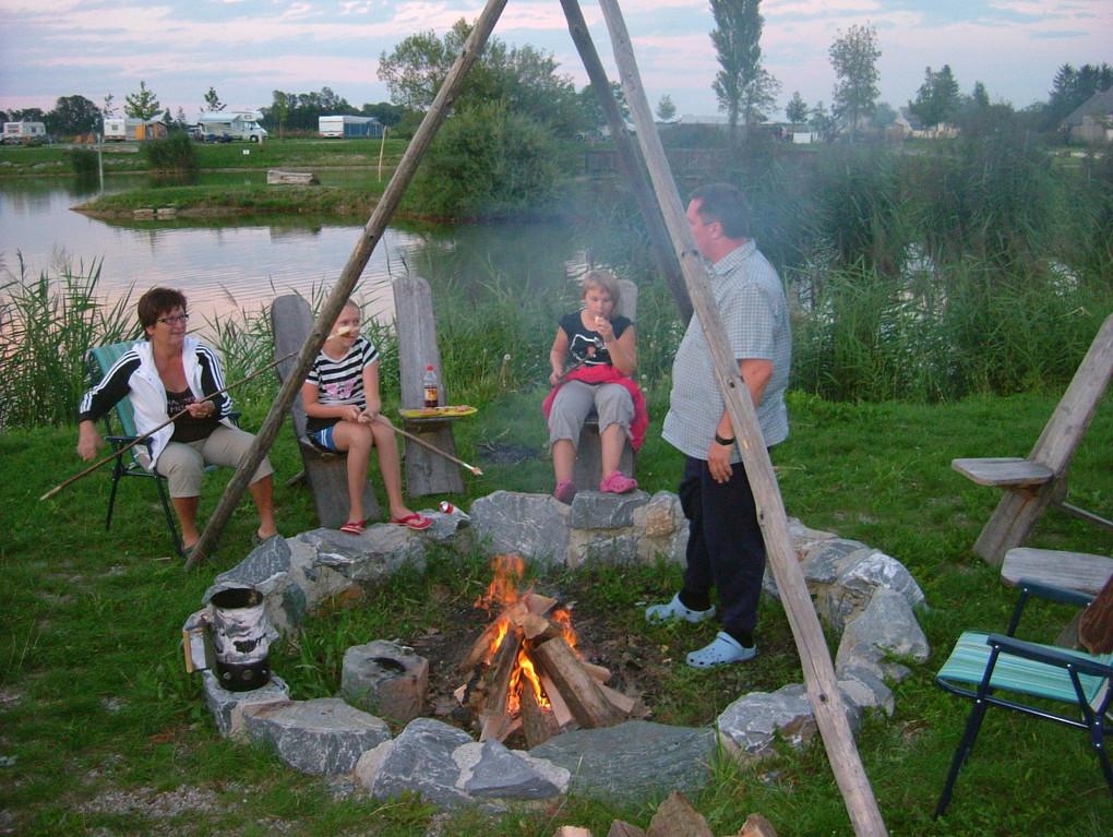 """Feuerstelle in """"Camping Sonnenland"""" Lutzmannsburg"""
