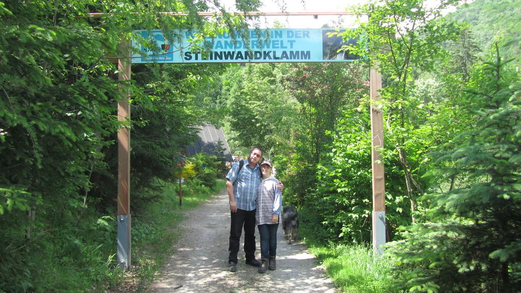 Eingang zur Steinwandklamm