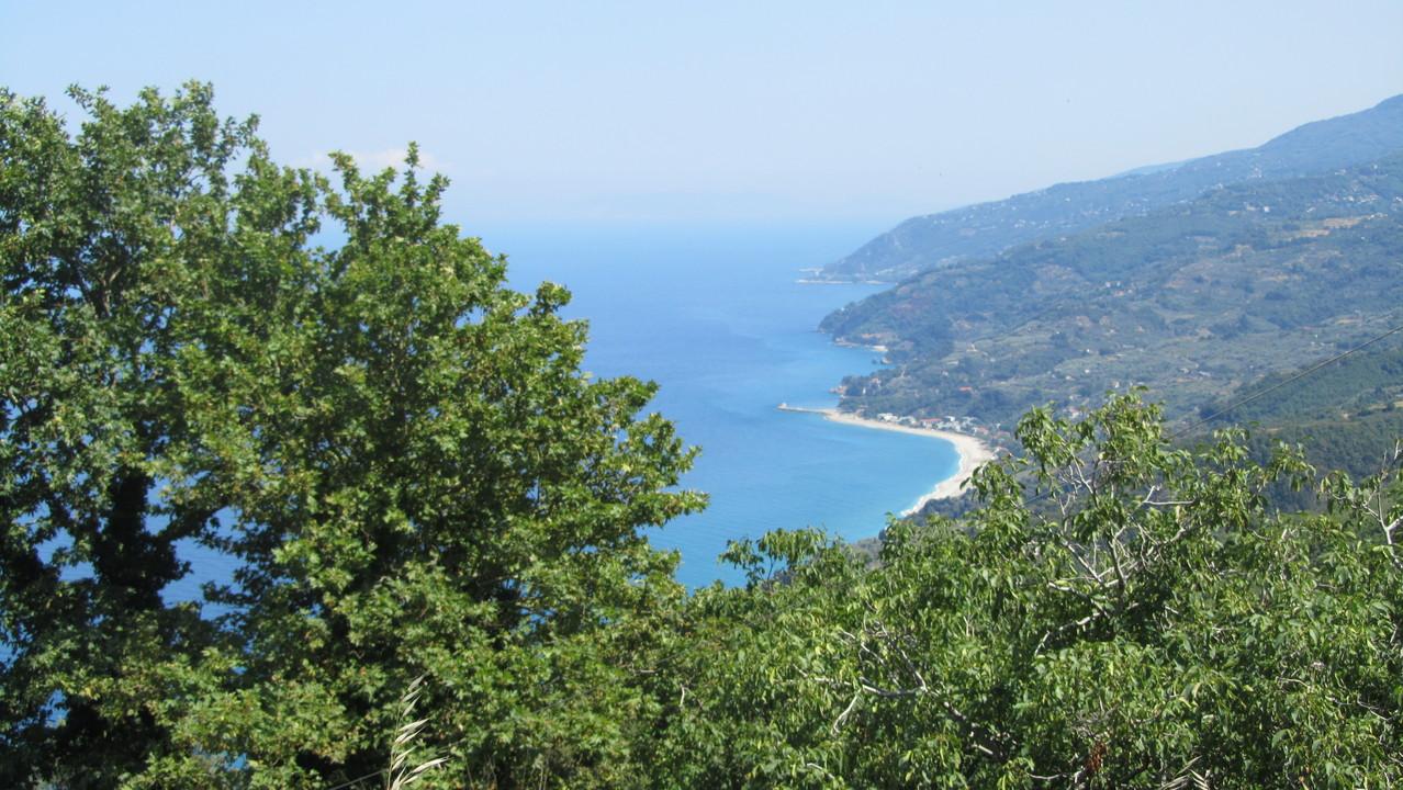 Die Bucht von Horefto (unser Ziel)