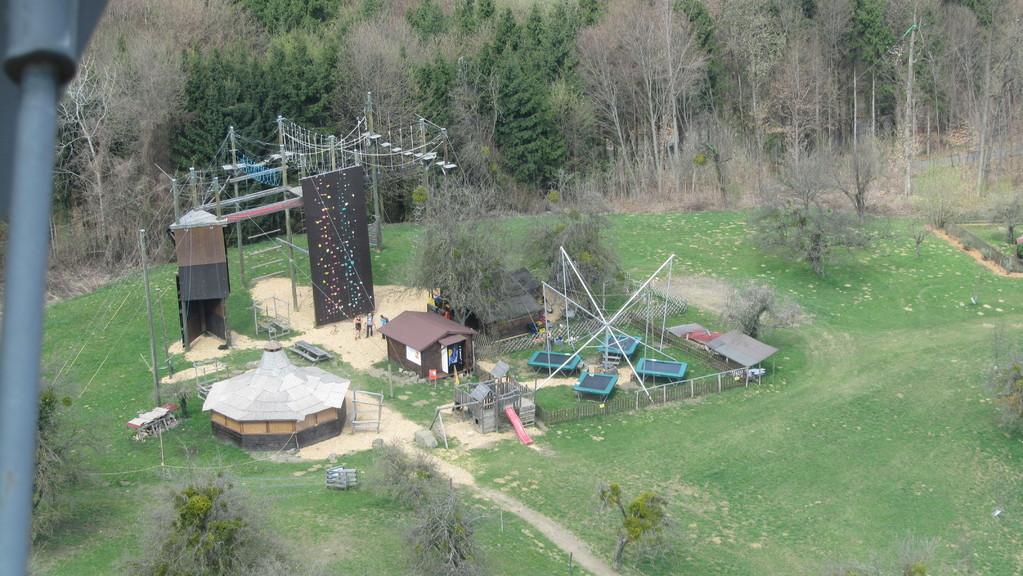 Kletterpark bei der Riegersburg