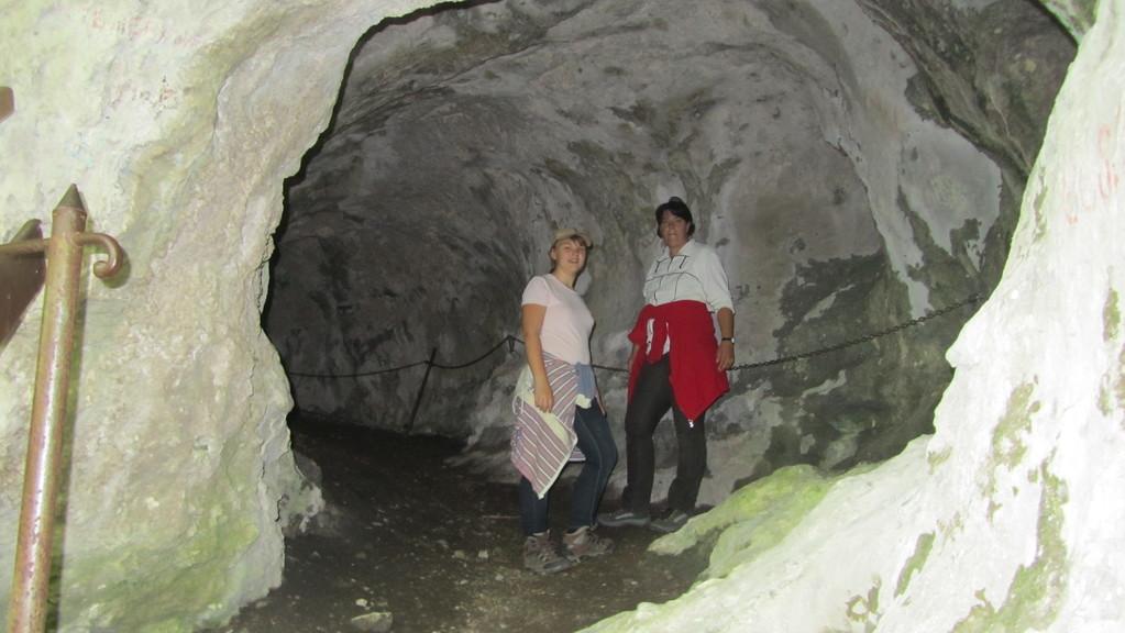Eingang zum Türkenloch