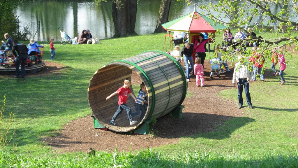 Spielplatz außerhalb des Campingplatzes