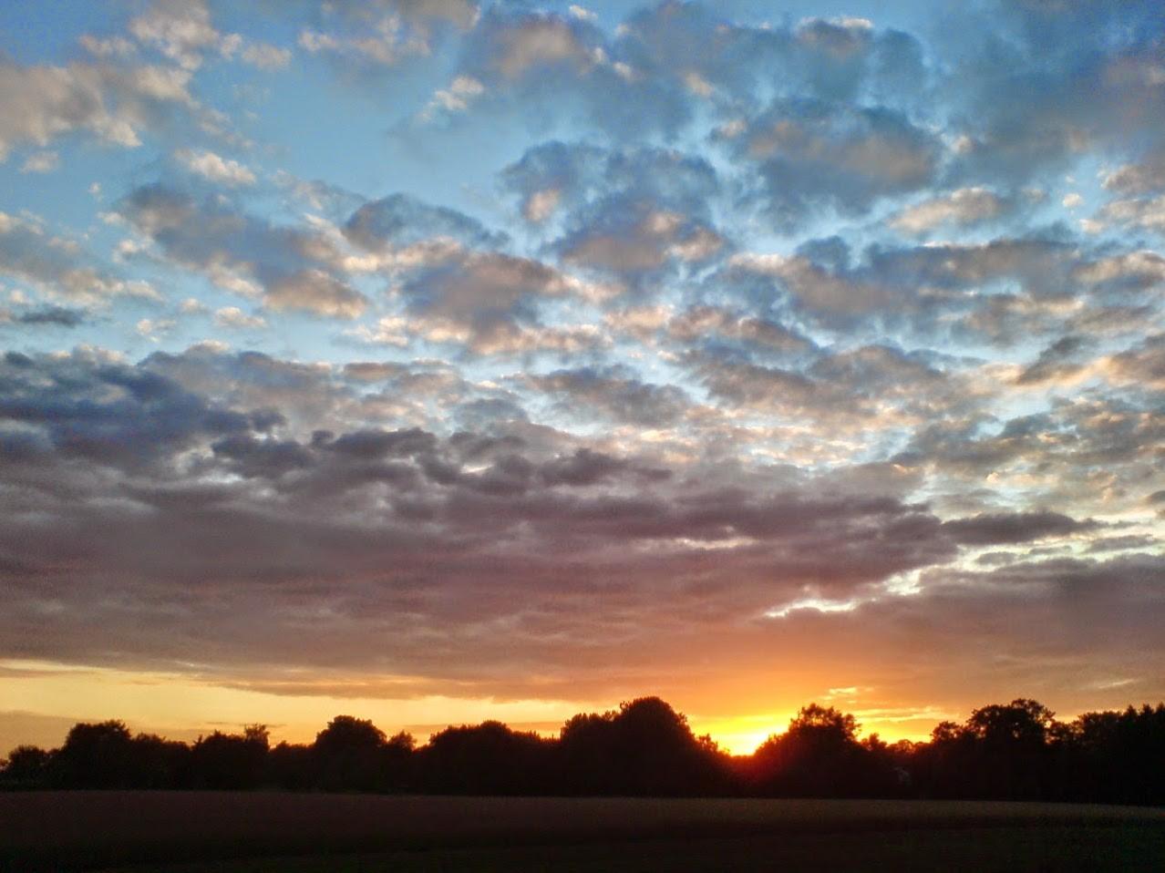 ~ Bild: Sonnenuntergang ~