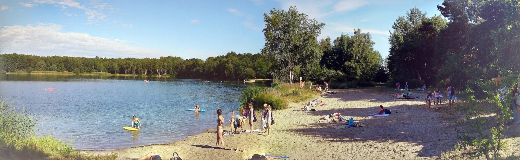 ~ Bild: Pano(d)rama Wehnser See (Strand) ~