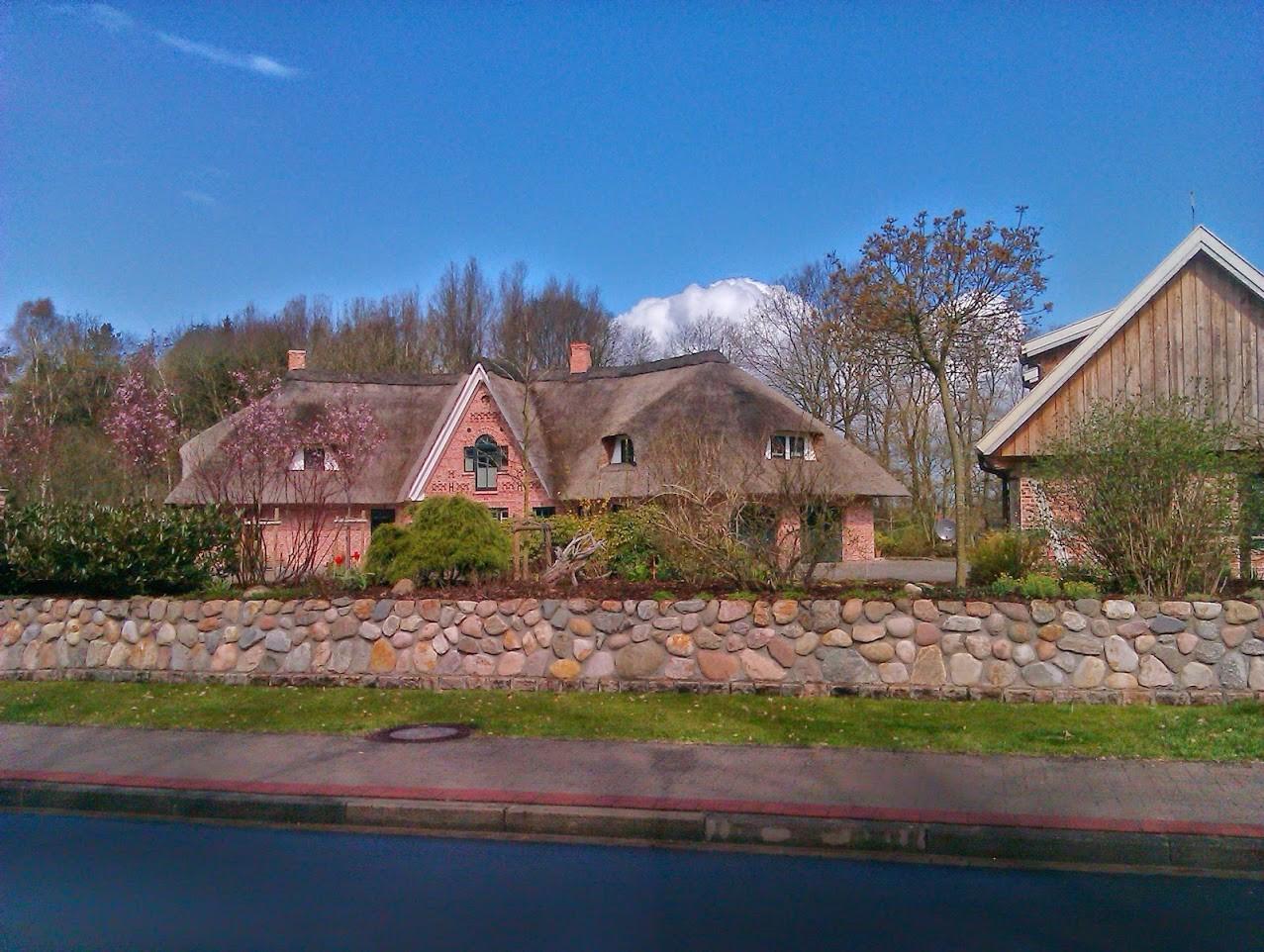~ Bild: Alte Häuser in Sittensen ~