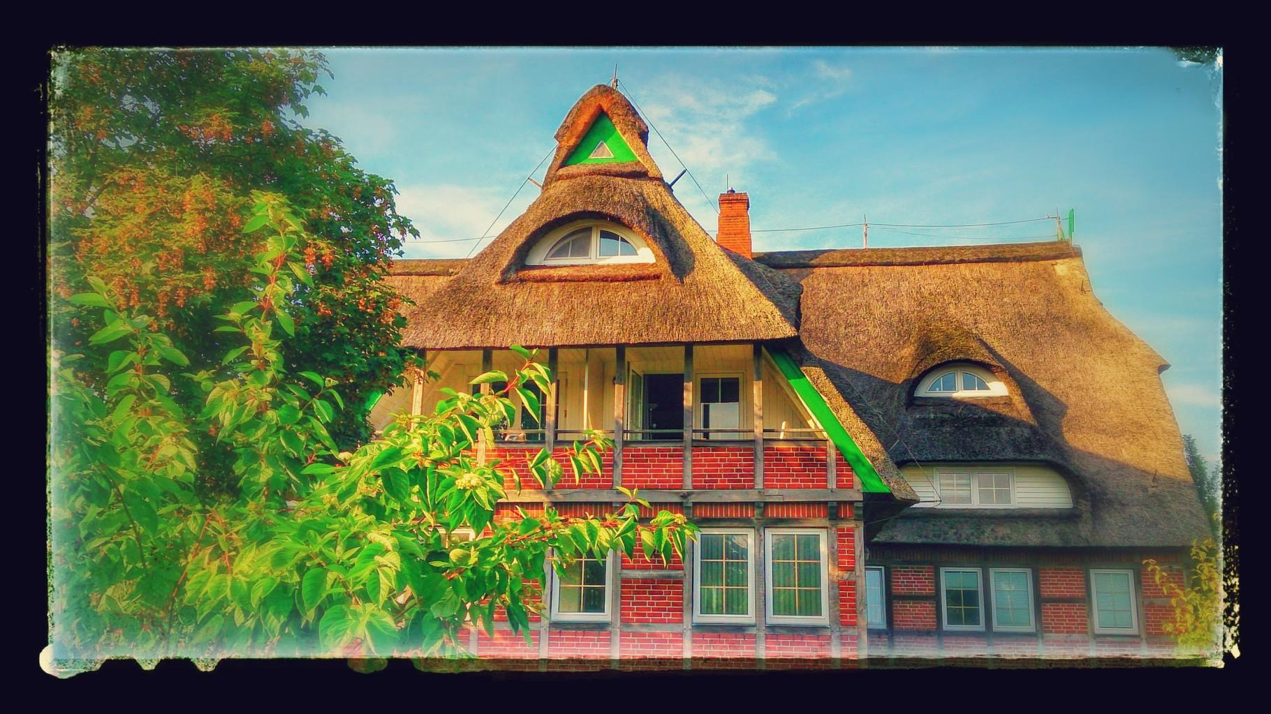 ~ Bild: Special Effects - 'Deichschlösschen@Dorum, Wurster Land' ~