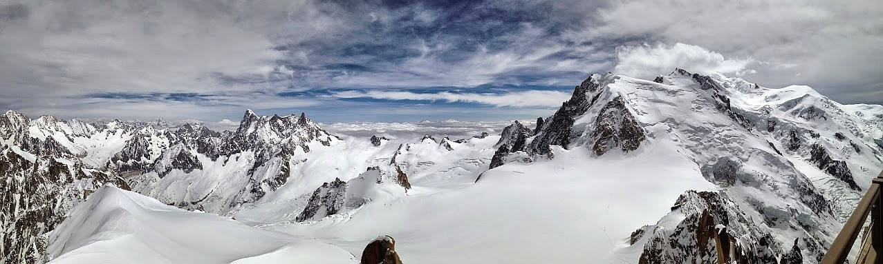 ~ Bild: Pano(d)rama Mont-Blanc-Massiv ~