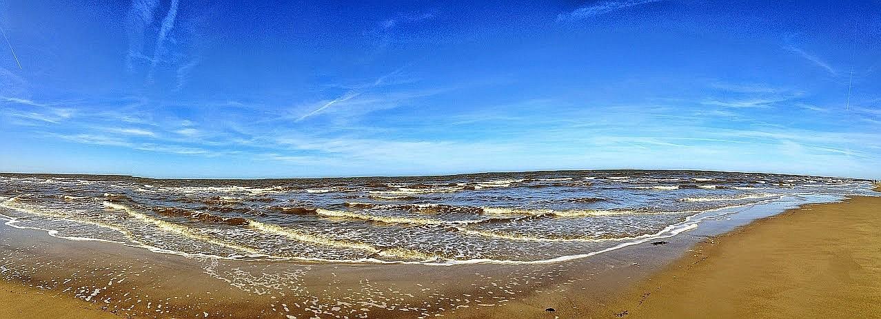 ~ Bild: Pano(d)rama Strand von Sankt Peter Ording ~