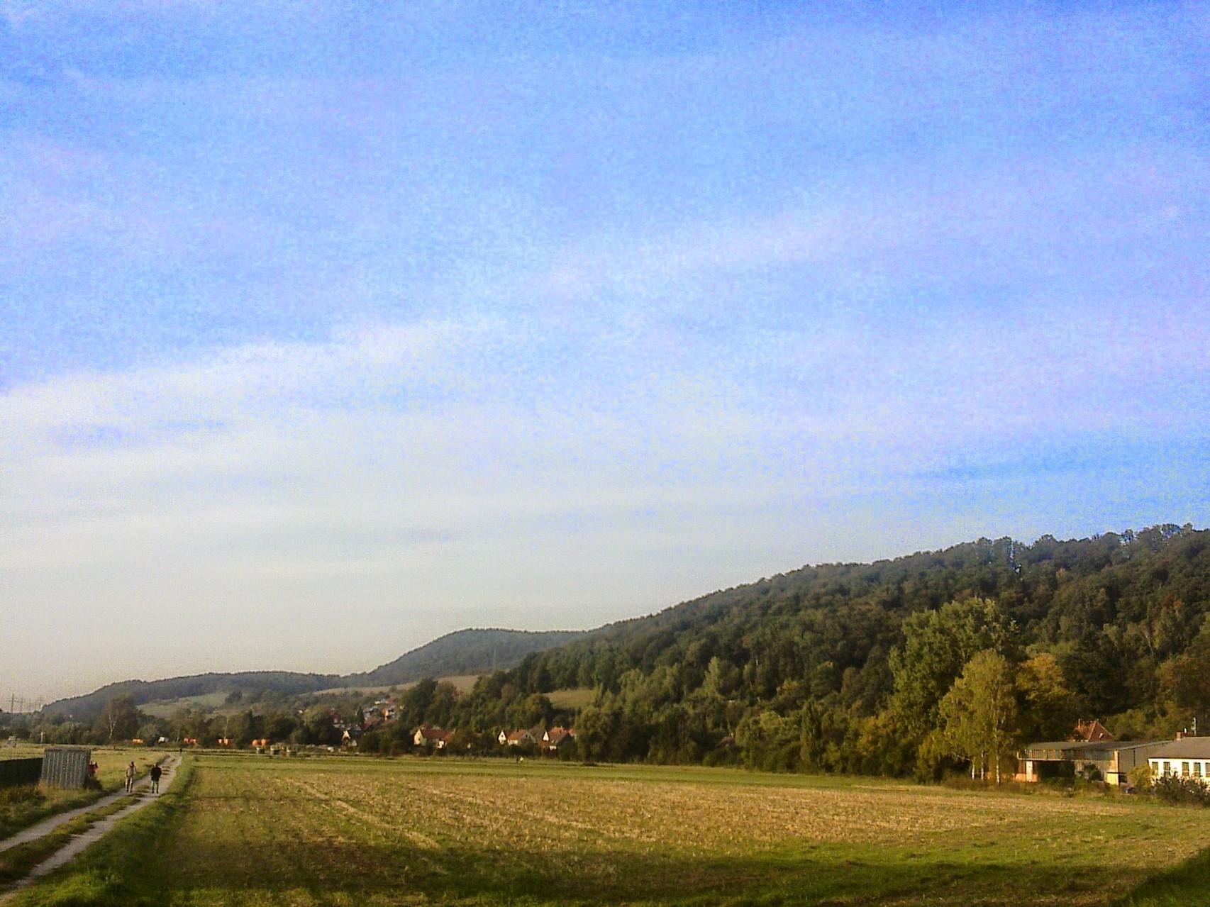 ~ Bild: Ausklang der Sieben Berge bei Alfeld (Leine) ~