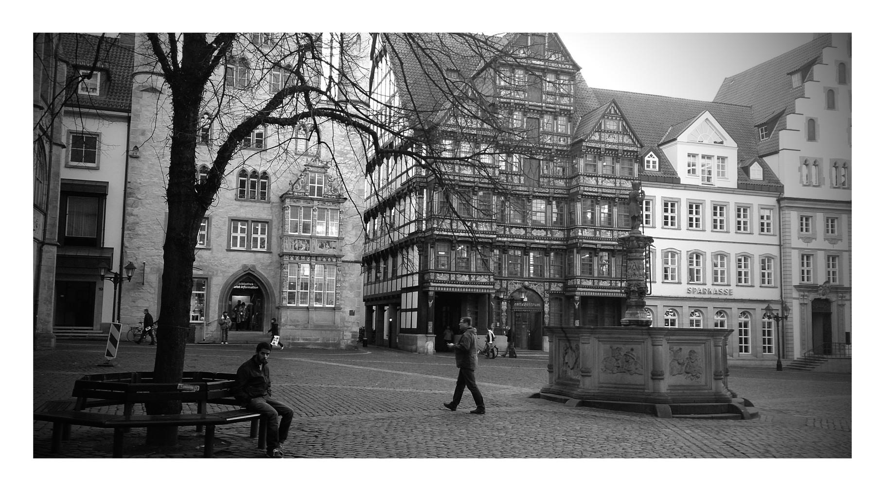 ~ Bild: Special Effects - 'Historischer Marktplatz, Hildesheim' ~