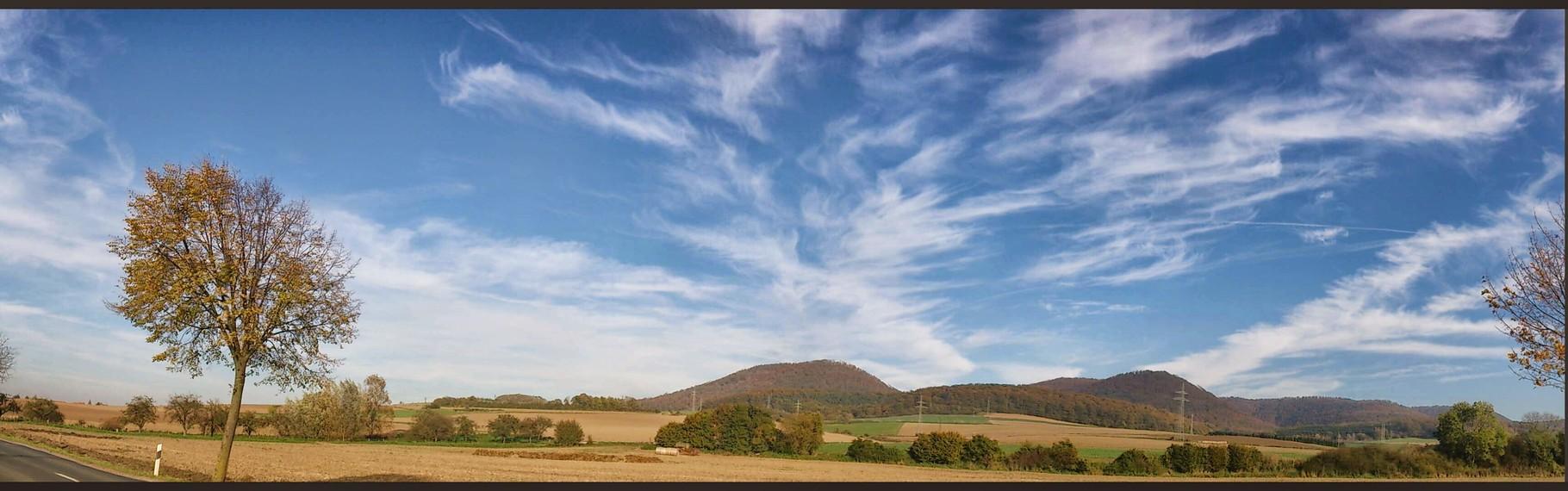~ Bild: Panorama-Ansichten der 7 Berge im Leinebergland ~