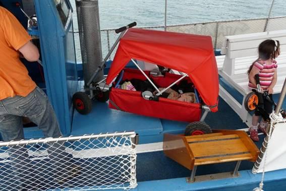 ulfBo auf Seereise