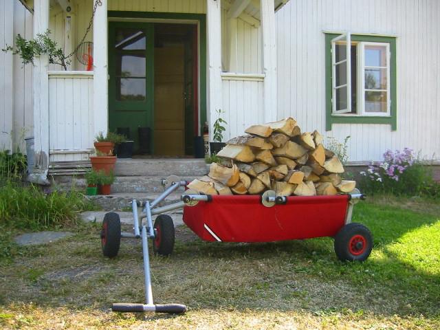 ulfBo als Brennholztransporter
