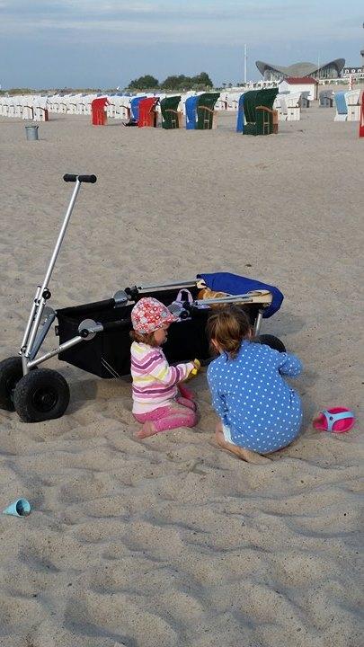ulfBo am Strand - klar doch