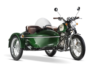MASH Side Car Five Hundred grün