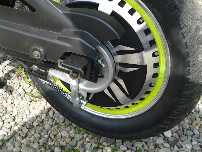 bürstenloser Radnabenmotor = Wartungsarm