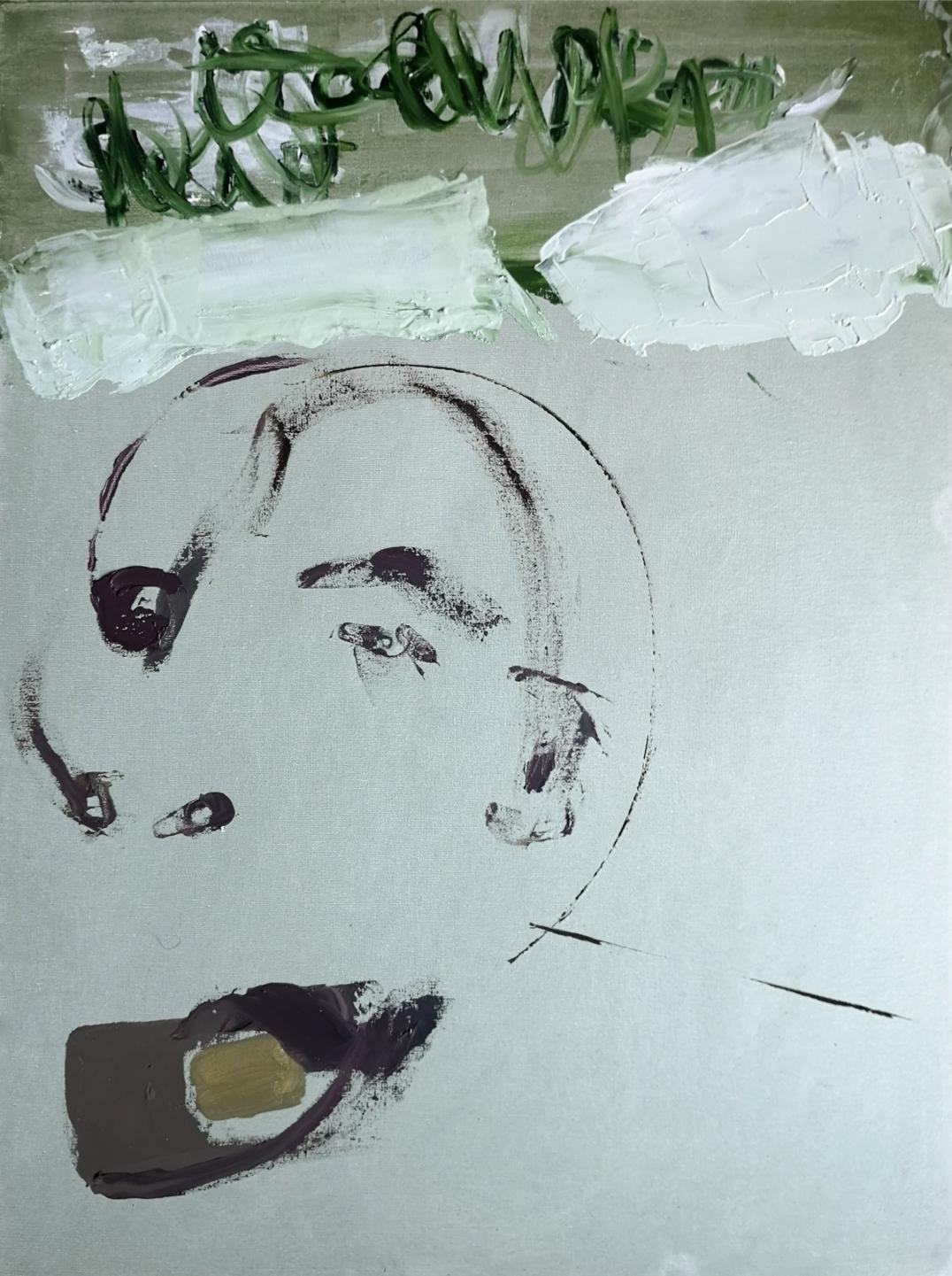 «Self» - Oil on canvas - 61x46cm - 2020