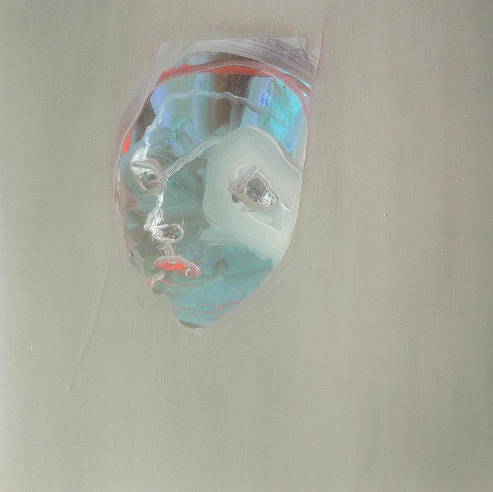 'Languid doll' - Oil on linen canvas - 50x50cm - 2021